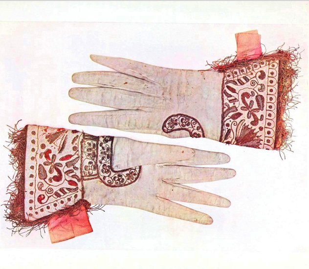 vintage printable gloves