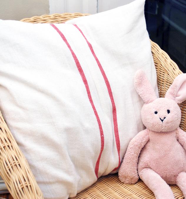 ikea swedish tea towel pillow