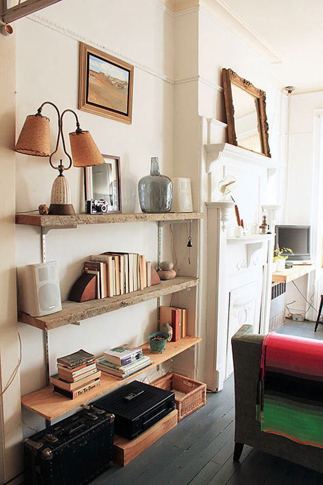 anne claire design sponge barnwood bookshelf