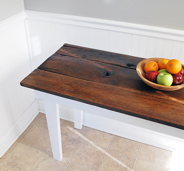 barnwood farm table complete