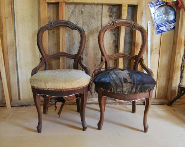 No. 21 chairs before