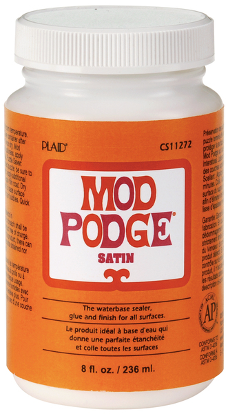 modge podge satin fnish