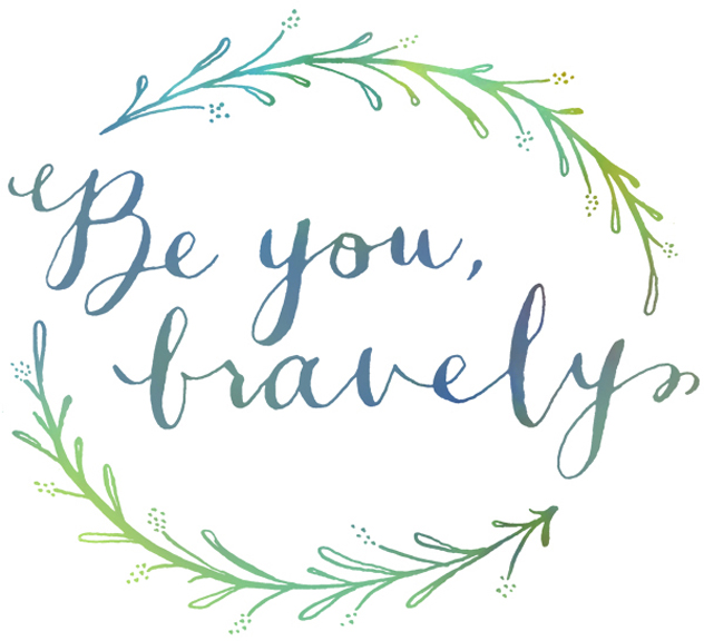 be you bravely, magpie paper works