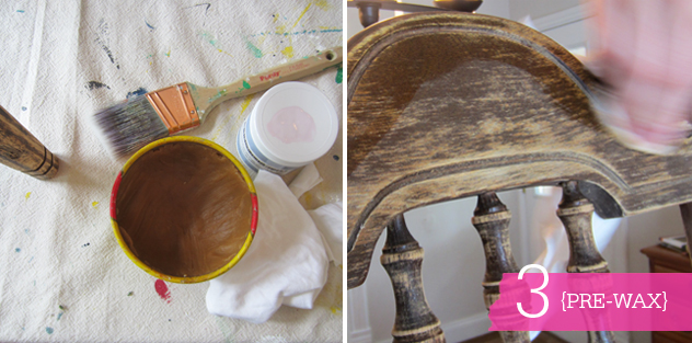 508 diy: chippy painted chair with bemz fabr