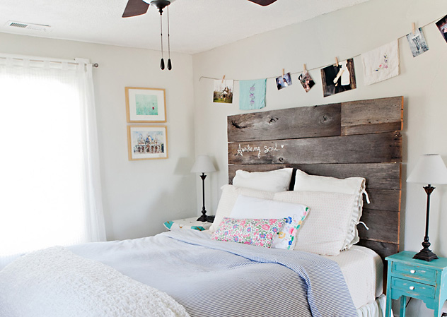awake my soul barn wood headboard