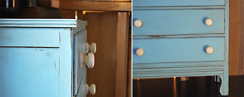No. 15 Blue Dresser
